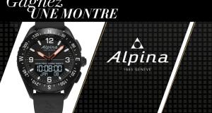 Une montre Alpina Watches AlpinerX offerte