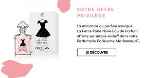 Échantillons gratuits Eau de parfum La petite robe noire Guerlain
