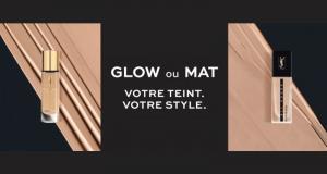 Échantillons gratuits des fonds de teint Glow & Mat Yves Saint Laurent