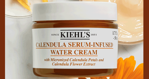 Échantillons gratuits du soin Calendula Water Cream de Kiehl's