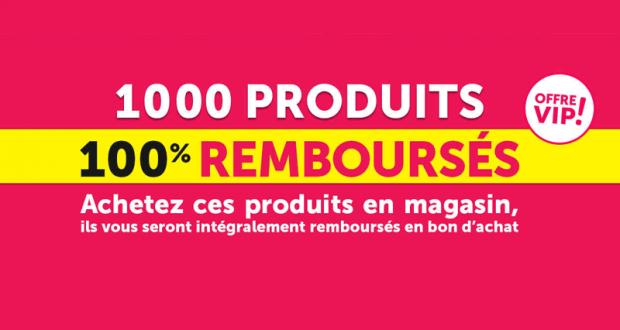 1000 Produits 100% remboursés - Gifi