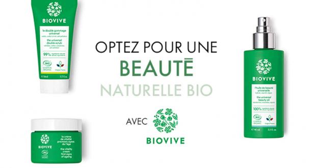 16 lots de produits Biovive offerts