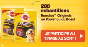 200 échantillons de Ranchos Originals offerts
