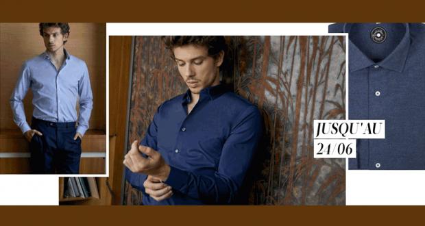 5 chemises homme Première Manche offertes