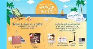 95 cartes cadeaux Carrefour offertes