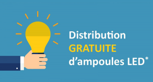Distribution gratuite de 4 Ampoules LED