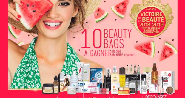 Gagnez 10 Beauty Bags de 650 euros chacun