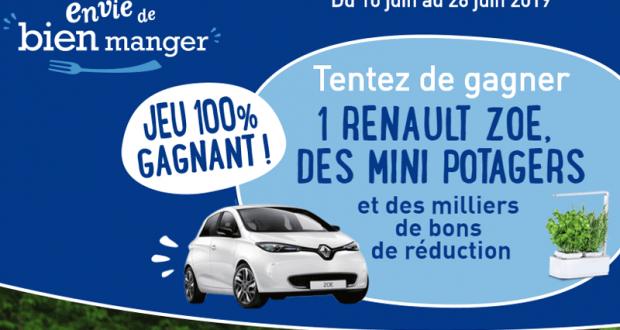 Gagnez une voiture Renault Zoé + 400 mini-potagers