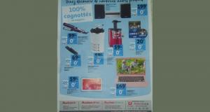 Sélection d'articles 100% remboursés sur la carte Auchan