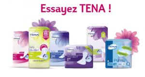 Échantillons Gratuits de produits TENA Lady