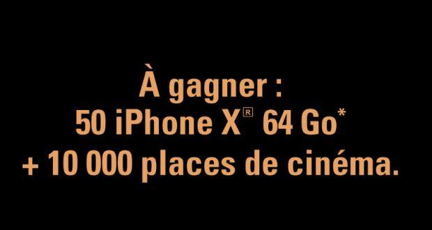 10 000 places de cinéma offertes