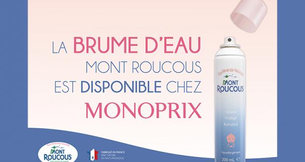 10 brumes d'eau Mont Roucous offertes