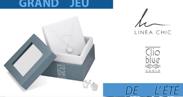 12 parures de bijoux Linea Chic Clio blue