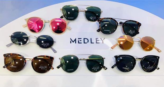 2 paires de lunettes de soleil Medley
