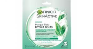 20 Masques tissu Skinactive Hydrabomb Garnier à tester