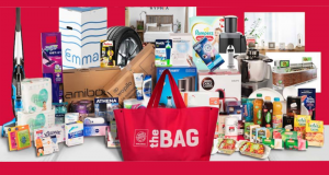 20 sacs remplis de produits innovants offerts