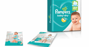 3000 paquets de couches Pampers Baby Dry offertes