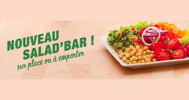 32 500 salades Flunch offertes