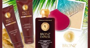 40 routines Auto-Bronzantes Bronz'Express offertes