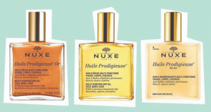 5 coffrets d'huiles prodigieuses Nuxe offerts