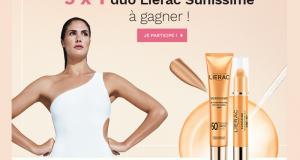 5 lots de 2 produits Lierac Sunissime offerts