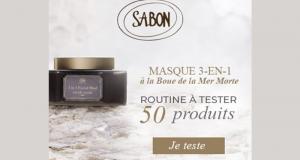 50 Soins visage 3-in-1 Facial Mud scrub mask de Sabon à tester