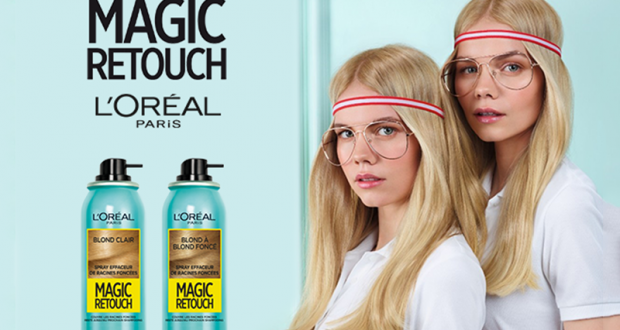 80 Sprays Magic Retouch Dark Roots de l'Oréal Paris offerts
