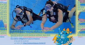 Baptême de plongée gratuit - Subaqua Club