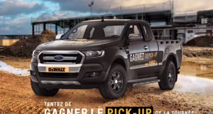 Gagnez un Ford Pick-Up Ranger Super Cabine (32 788 €)