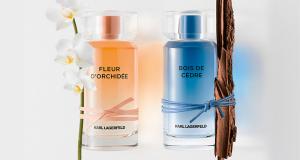 Lot de 2 parfums Karl Lagarfeld Fleur D'Orchidée et Bois de Cèdre