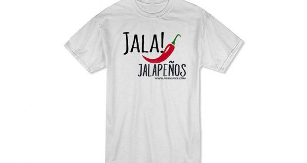 Obtenez gratuitement un T-shirt Jala! Jalapeños