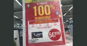 TV 55 LG 55UK6200 100% remboursé