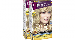 Testez le Kit Coloration Blond Naturel Color & Eclat Eugène Color