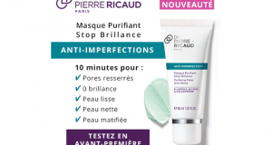 Testez le Masque Purifiant Stop Brillance Anti-Imperfections