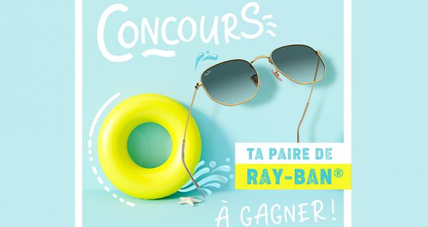 Une paire de Ray-Ban de votre choix