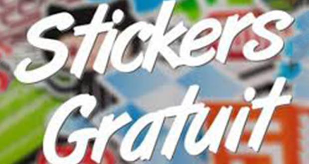 10 000 packs de stickers gratuits
