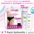 10 packs Saforelle offerts