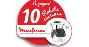 10 robots cuiseurs Moulinex offerts