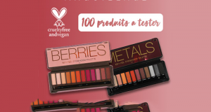 100 Palettes Berries & Metals de Bys à tester