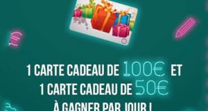 42 cartes cadeaux Cora de 50 à 100€ à gagner