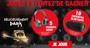 5 casques audio + 10 enceintes Bluetooth à gagner