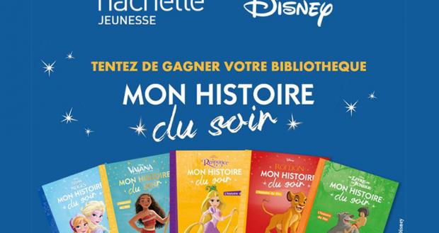 50 livres Disney Mon Histoire du Soir offerts