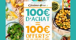 Casino Drive - Vos courses 100% Remboursées
