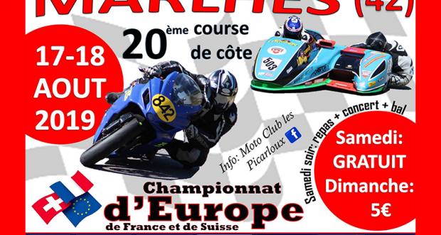 Entrée Gratuite à la 20ème Course Moto de Côte