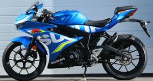 Gagnez une moto Suzuki GSX-R125