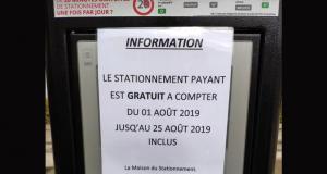 Stationnement gratuit à Arpajon