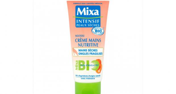 Testez la Crème Mains Nutritive Certifiée Bio de Mixa