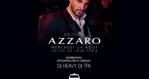Échantillons gratuits du parfum Azzaro