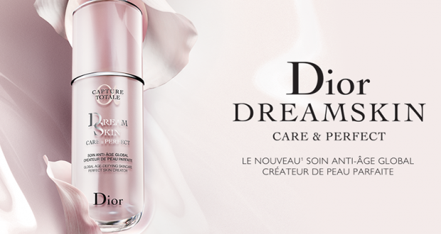Échantillons gratuits du soin Dior Dreamskin Care & Perfect