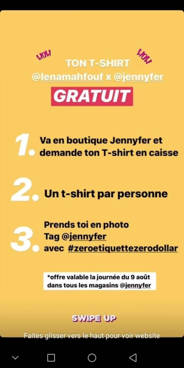t-shirts Jennyfer